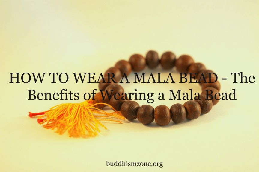 HOW TO WEAR A MALA BEAD - The Benefits of Wearing a Mala Bead